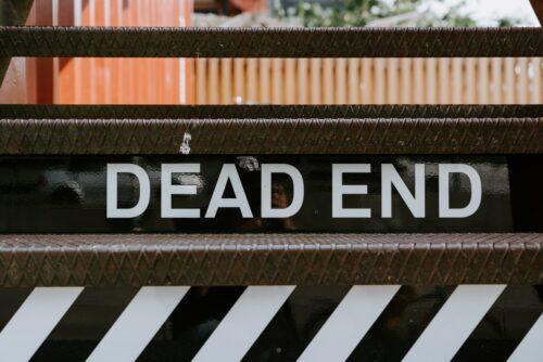 dead end - sign