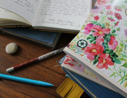pencil-flowers-books